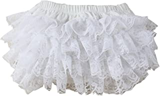 Wennikids Lace & Cotton Diaper Covers Baby Bloomer in a Variety of Colors and Sizes