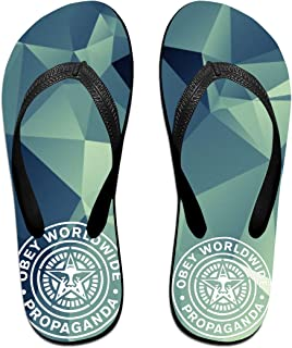 AA+ME Obey Propaganda II Comfortable Men Women Summer Beach Sandals Shower Flip-Flops Slippers