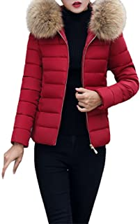 YOcheerful Women Down Coats Down Jacket Warm Winter Eiderdown Garment Coat Gilet Jacket