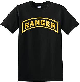 U.S. Army Ranger Tshirt. Black