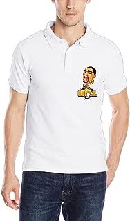 Allen Iverson Hill Basketball Boyfriend Ring Spun Cotton Polo Tshirt Size M Color White