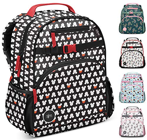 Simple Modern Kids' Fletcher Backpack for Toddler Boys Girls School, Mickey Mouse Ears, 7 Liter