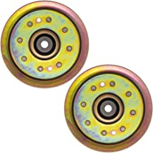 8TEN Flat Idler Pulley for MTD Cub Cadet RZT 50 L54 42 S50 Troy-Bilt GT54 TB2450 756-04129B 956-04129C 2 Pack