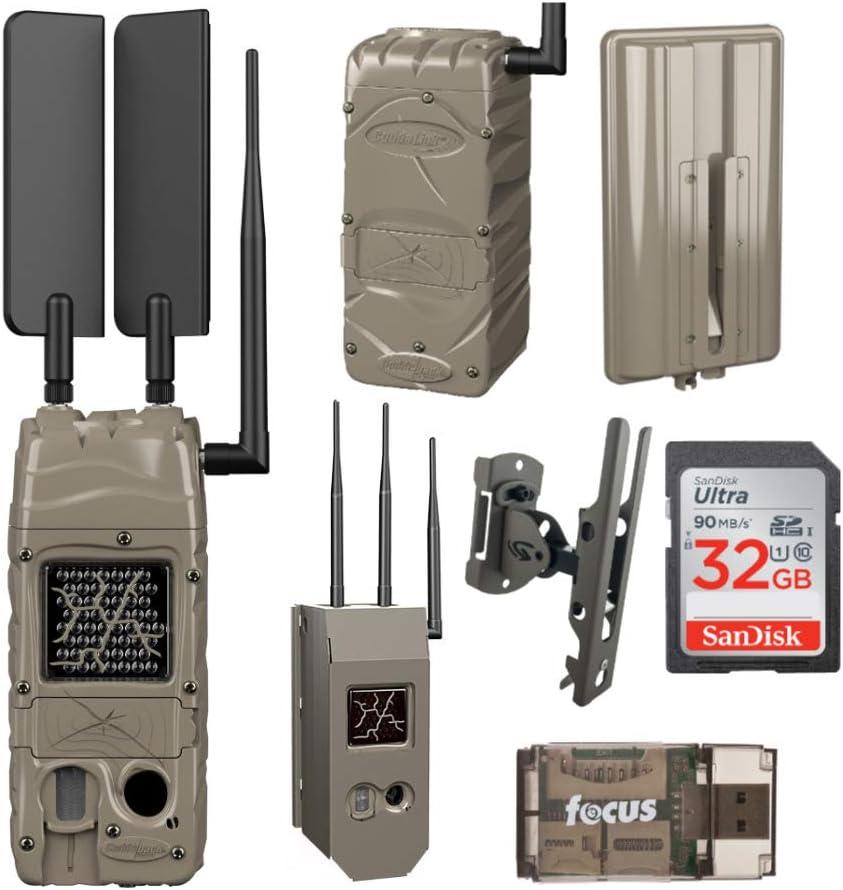 Cuddeback Year-end annual account CuddeLink Cell Trail Secure Verizon Camera Monitori Over item handling