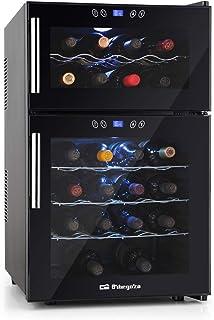 Orbegozo VT 2410 – Vinoteca 24 botellas, 52 litros de capacidad, temperatura regulable, panel táctl, display digital, luz ...