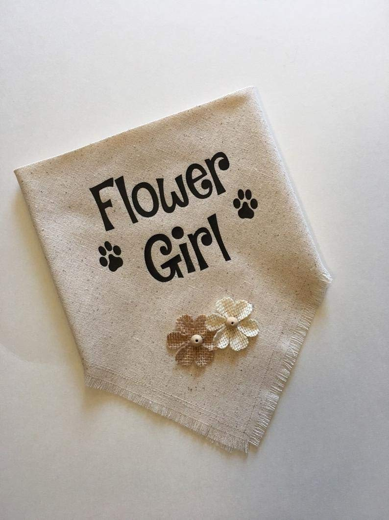 Wedding Popular popular Flower Girl Bandana quality assurance Dog Costume