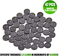 Engine Valve Shim Set of 3 O.D 7.50mm with 2.90mm Thickness