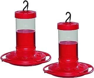 First Nature 16 oz. Hummingbird Feeder (2 Pack), Red