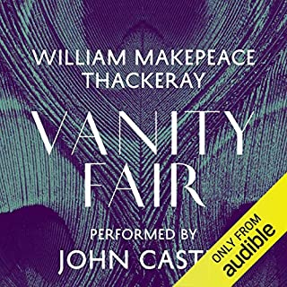 Vanity Fair audiobook cover art
