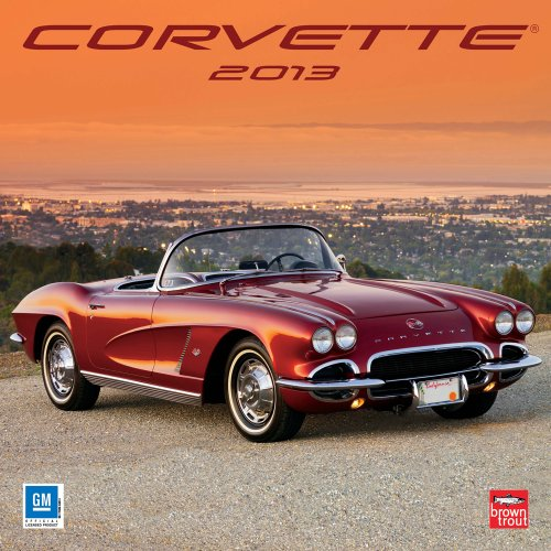 Corvette 2013 - Original BrownTrout-Kalender