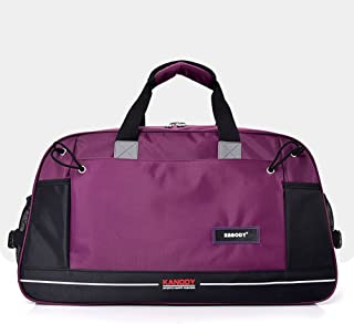 Sports Duffle Bag Duffel Gym Bag Mens Women Travel Luggage Barrel Gym Sports Bag