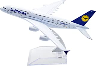 TANG DYNASTY 1/400 16cm ルフトハンザドイツ航空 Lufthansa Airlines エアバス A380 高品質合金飛行機プレーン模型 おもちゃ