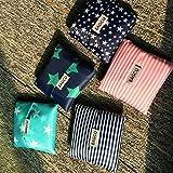 Generic - Bolsa de compras plegable, portátil, creativa de bolsillo, bolsa de viaje, bolsa ecológica reutilizable, bolsa de almacenamiento al por mayor
