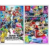 Nintendo Super Smash Bros Ultimate Switch [Importación italiana] + Mario Kart 8 Deluxe