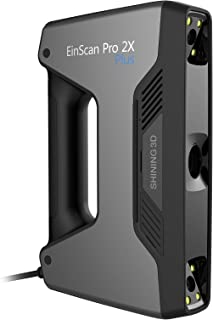 EinScan Pro 2X Plus Handheld 3D Scanner Includes 2 Year Parts Warranty and SolidEdge CAD Software (Shining3d Version)
