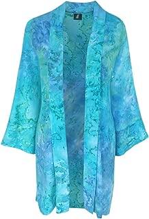 PLUS Size Kimono Cardigan, Handmade Kimono, One Size 1x/2x by Generous Fashions
