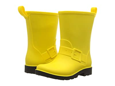 Native Kids Shoes Barnett (Toddler/Little Kid) (Crayon Yellow/Jiffy Black) Kids Shoes