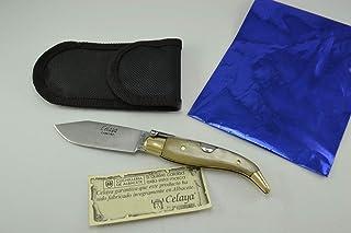 Couteau Celaya Classic Albacete Laiton Pastora Taureau 7 cm