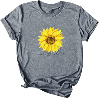 LUJXN Toddler Crew Neck T-Shirt Graphic Short Sleeve Daily Tees Attractive