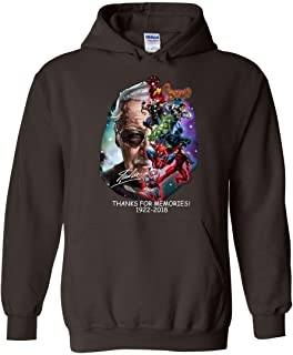 Stan-Lee Thanks for Memories 1922 2018 Hoodie