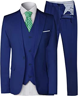 royal blue pinstripe suit