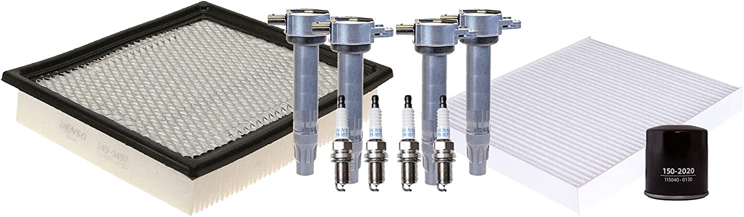 Ignition Tune Up Max 75% Discount mail order OFF 4 Platinum TT Compatible with Plugs D Spark kit