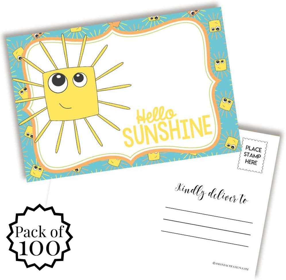 Hello Sunshine Blank Ranking TOP5 Postcards To Friends Family Phoenix Mall 4