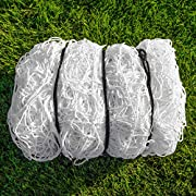 FORZA Fußball Tornetz Ersatznetze – robuste und wetterfeste Ersatznetze für Ihrem Fußballtor (2,4m x 1,8m)
