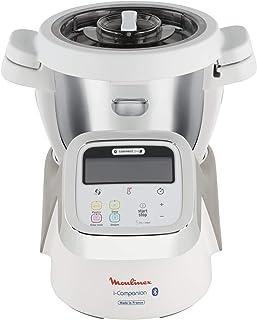 Moulinex I-Companion Robot Cuiseur multifonction connecté, 1550 W, Capacité utile bol 2,5 L, 6 à 8 pers, 10 programmes, Ba...