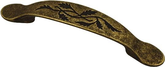 kleine Schubladen 12er Set inkl Truhen Boxen Antik Bronze Vintage Design 4.8 x 1.4cm 12x Antike Mini M/öbel-Griffe Schrauben FUXXER/® f/ür K/ästen