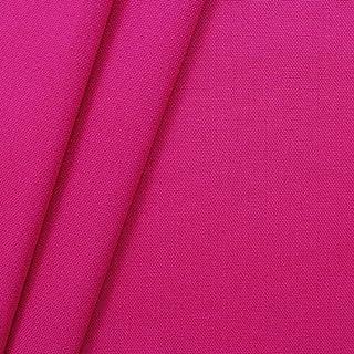 STOFFKONTOR 100% Baumwolle Canvas Stoff Meterware Pink