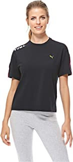 Puma Chase Tee For Women, Size XL Black
