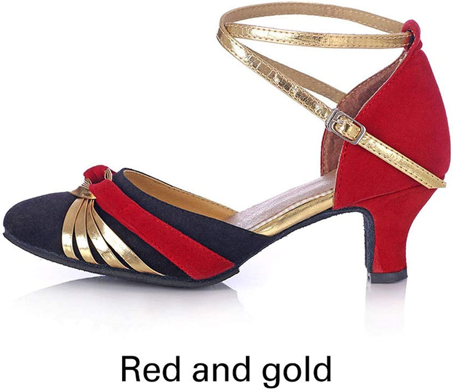 Pretty-sexy-toys Latin Dance shoes Female Adult Tango Modern Dance shoes