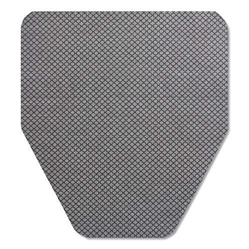 Tolco 220209 Komodo Urinal Mat, 18 x 20, Gray, 6/Carton