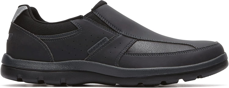 Rockport - Gyk Slip sur Les Chaussures pour Hommes, 51.5 EU, noir