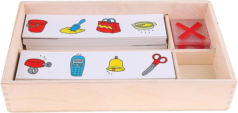 FITYLE Kinder Pädagogisches Puzzle Spielzeug, Flasche Karten Suchen B079Z1MH1B  ein guter Ruf in der Welt | Genial
