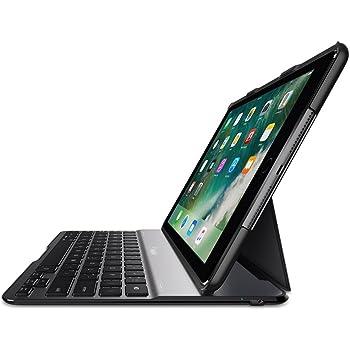 """Belkin QODE teclado para móvil Negro - Teclados para móviles (Negro, Aluminio, Apple, iPad 5th (2017), 24.6 cm (9.7""""))"""