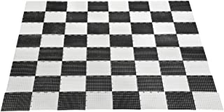 Uber Games Garden Checkers and Chess Game Board - Plastic