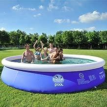 MOEAS Large Adult Infant Inflatable Swimming Pool Child Ocean Pool Plus Size Large Plastic Children Kids Swimming Pools, 360X90Cm
