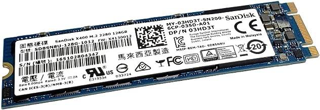 SanDisk SD8SN8U-128G-1012 X400 128GB M.2 2280 SATA 3 6.0 Gb/s SSD Solid State Drive 3HD3T 03HD3T MY-03HD3T