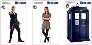 Advanced Graphics Doctor Who 8 Mini Standup Pack. The Doctor, Clara and TARDIS 10