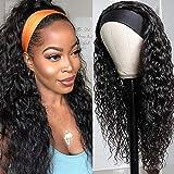 Best Brazilian Virgin Hairs - RUIXIAN Water Wave Headband Wigs Human Hair For Review