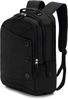 KINGSLONG Laptop Backpack with Computer Compartment for Travel Work 15.6, Black