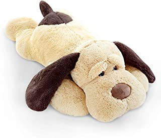 ERDAO Giant Dog Plush Pillow,Soft Big Dogs Stuffed Animal Toys Doll Large Stuffed Puppy Gifts for Girls Kids,31.5 inch