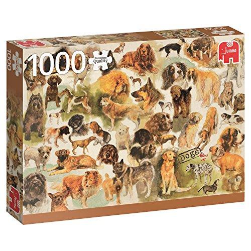 Jumbo- Poster de Perros Puzzle de 1000 Piezas (18596.0)