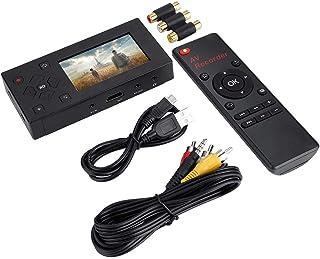 """AV-recorder 3""""TFT-recorder Audio- en video-omzetter met 3"""" TFT-scherm en afstandsbediening"""