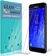 Galaxy J7 2018 Screen Protector, [3-Pack] TAURI [Tempered Glass] Screen Protector for Samsung Galaxy J7 Aero / J7 Top / J7 Eon / J7 Aura with Lifetime Replacement Warranty