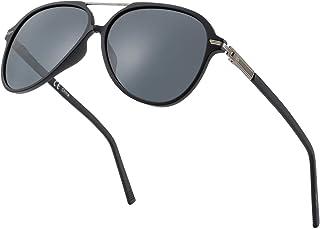 Sponsored Ad - ZENOTTIC Polarized Aviator Sunglasses for Men Women UV400 Protection TR90 Frame Ultra Light Pilot Shape Gla...