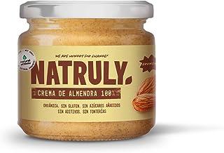 Beurre d'Amandes Crunchy BIO Natural Athlete, 100% Amandes, Biologique, Sans Sucres Ajoutés, Sans Gluten, 300 g