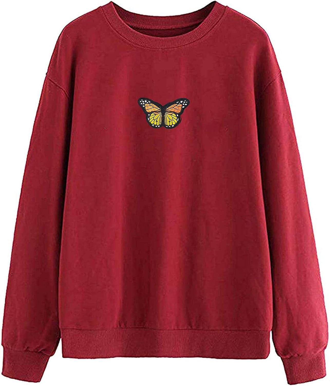 felwors Teen Girls Hoodies Pullover, Women 2021 Drawstring Hoodie Sweatshirt Jumper Pullover Tops Heart PocketBlouses